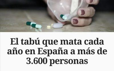 El tabú que mata cada año en España a más de 3.600 personas