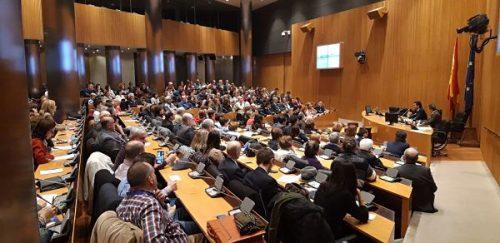 En febrero del año 2019 más de 300 personas se reunieron en el Congreso de los Diputados en una jornada organizada por la Asociación la Barandilla y el Diputado Iñigo Allí.